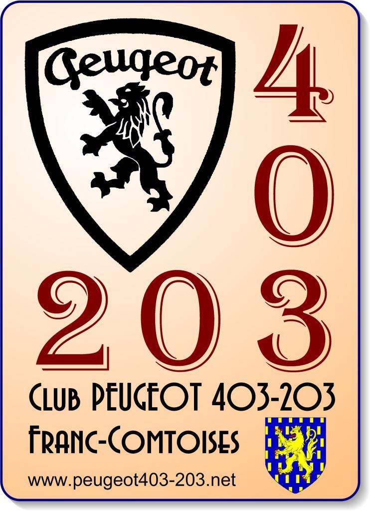 Club PEUGEOT 403-203 Franc-Comtoises